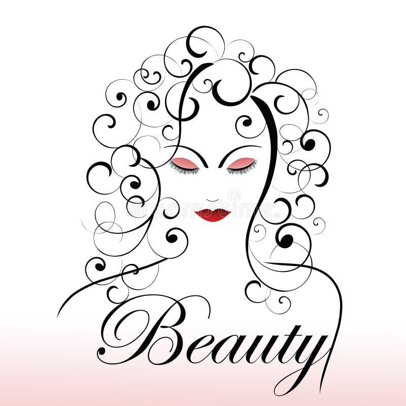 skönhetbegreppsungdom royaltyfri illustrationer