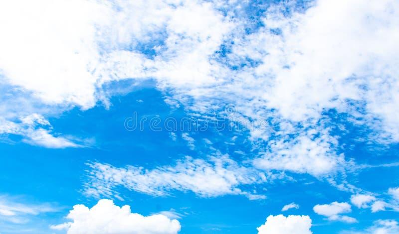 Skönheten av himlen med moln royaltyfri foto