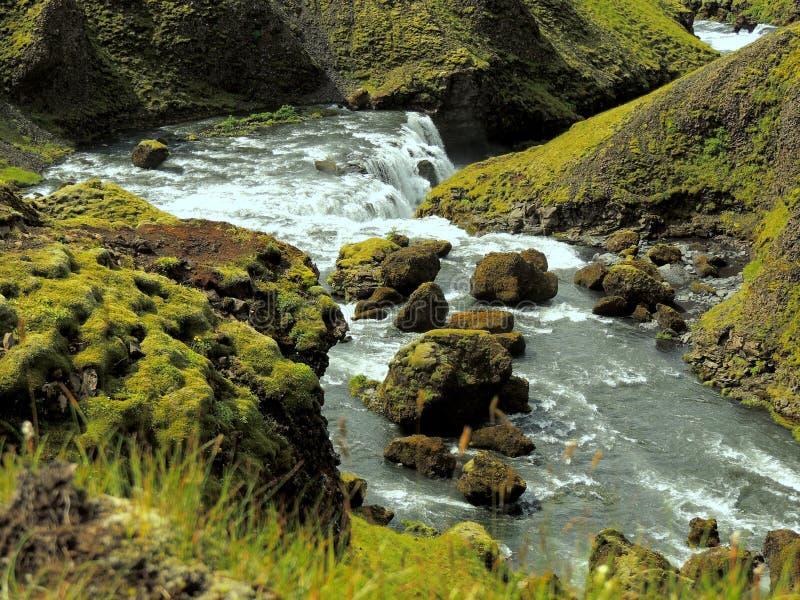 Skönheten av Island arkivbilder