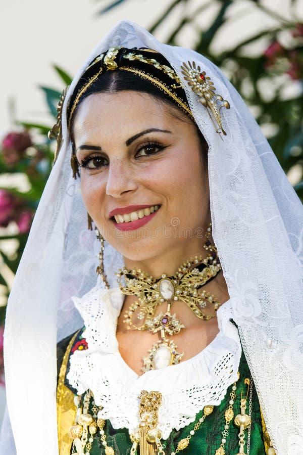 Skönheter av Sardinia arkivfoto