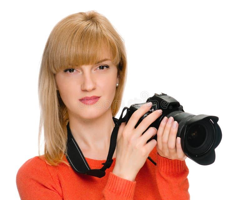 Skönhetfotograf arkivfoto