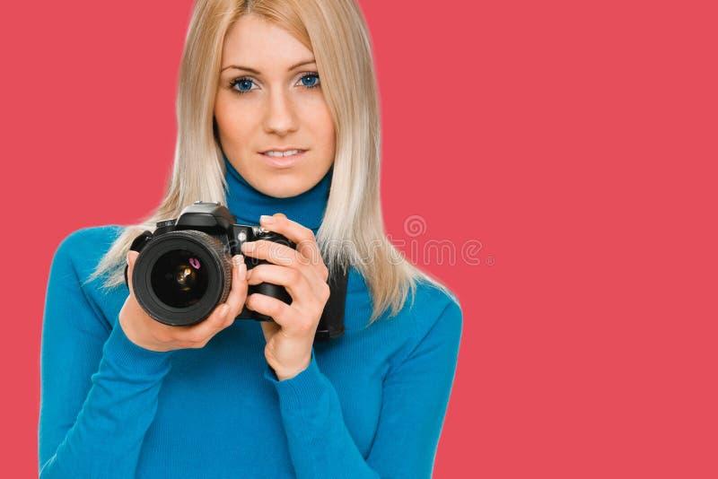 Skönhetfotograf arkivbild