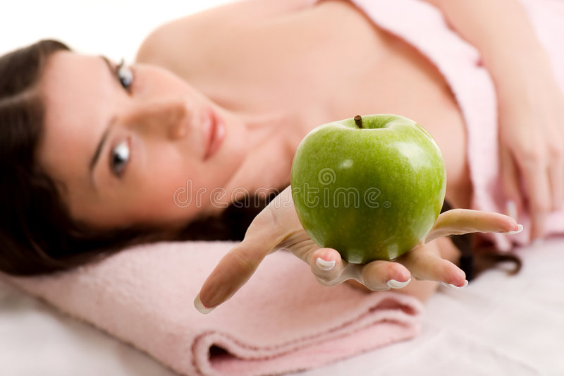 skönhethälsa royaltyfri foto