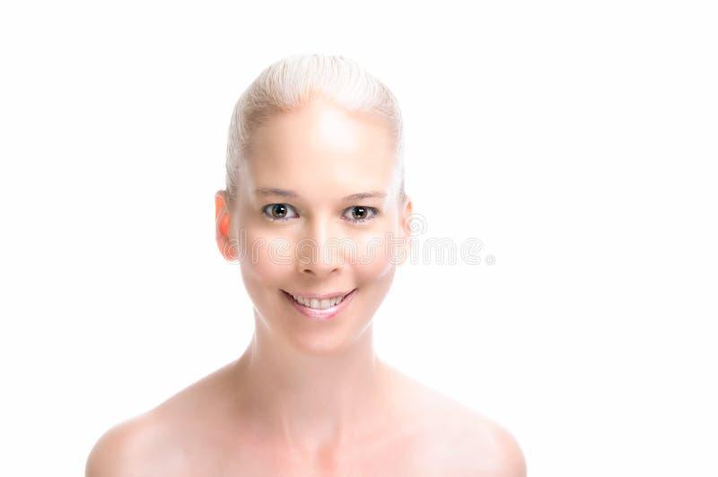 skönhetmodell royaltyfri bild