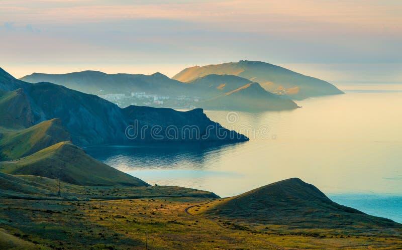 Skönhetnaturlandskap Krim royaltyfri foto