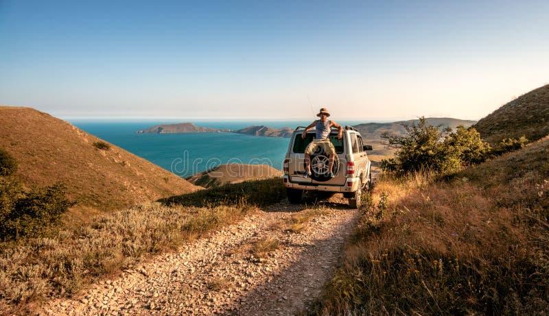 Skönhetnaturlandskap Krim royaltyfri fotografi
