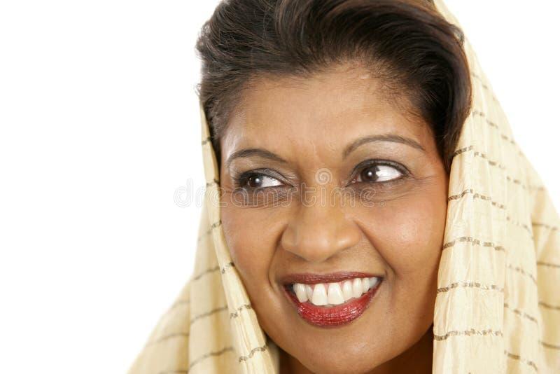 skönhetperson som tillhör en etnisk minoritet arkivfoton