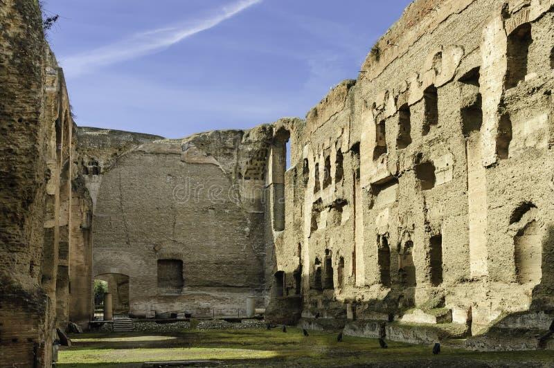 Skąpania Caracalla fotografia stock