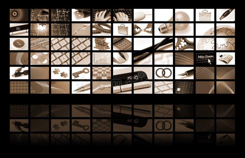 skład biznesowa technologia royalty ilustracja