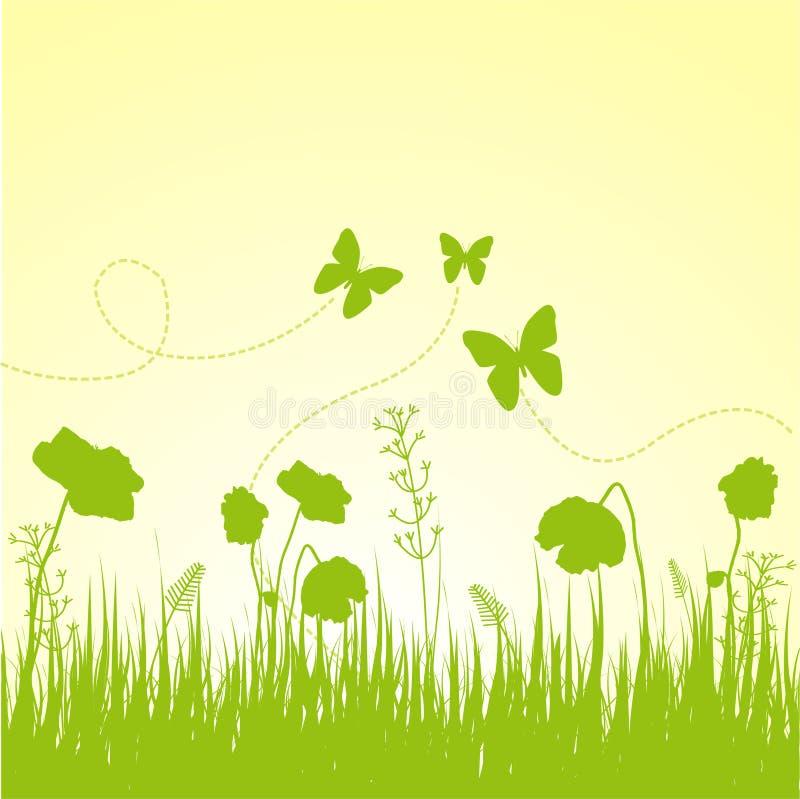 skład wiosna ilustracja wektor