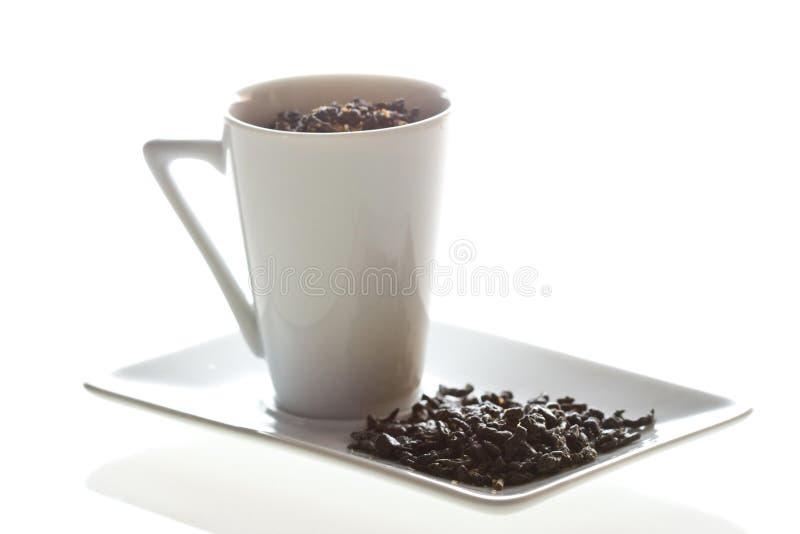 skład zielonej herbaty zdjęcie stock