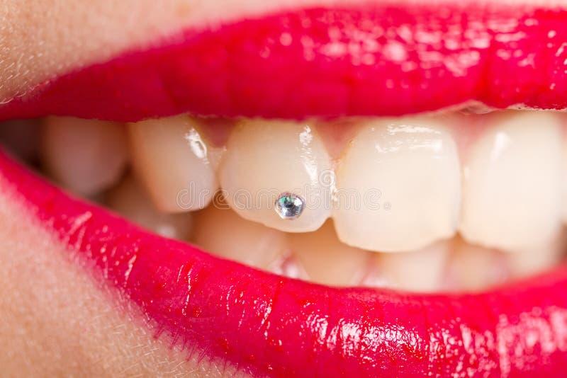 Składać zęby zdjęcie royalty free
