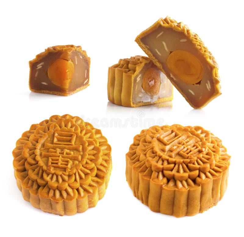 składników mooncakes obrazy royalty free