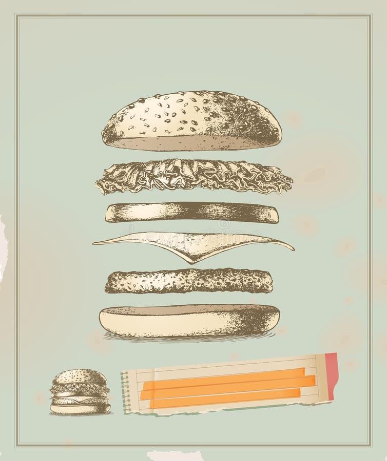 składnika każdy smak royalty ilustracja
