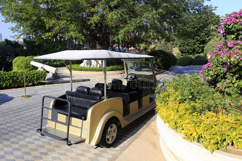 Składowy bateryjny samochód obrazy royalty free