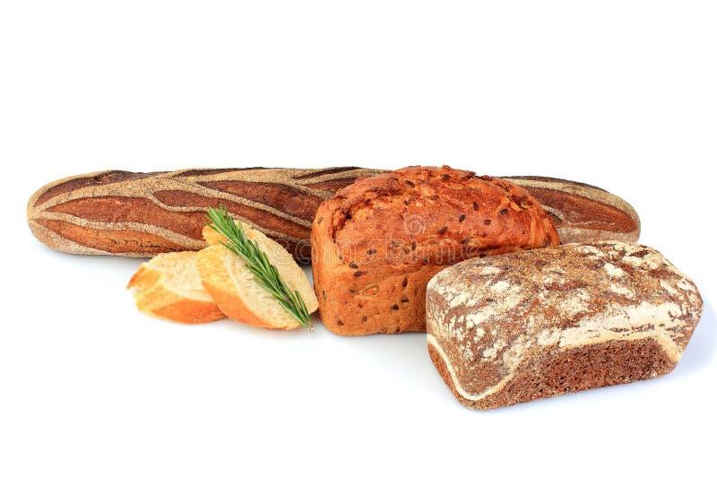 Składu asortowany chleb zdjęcia royalty free