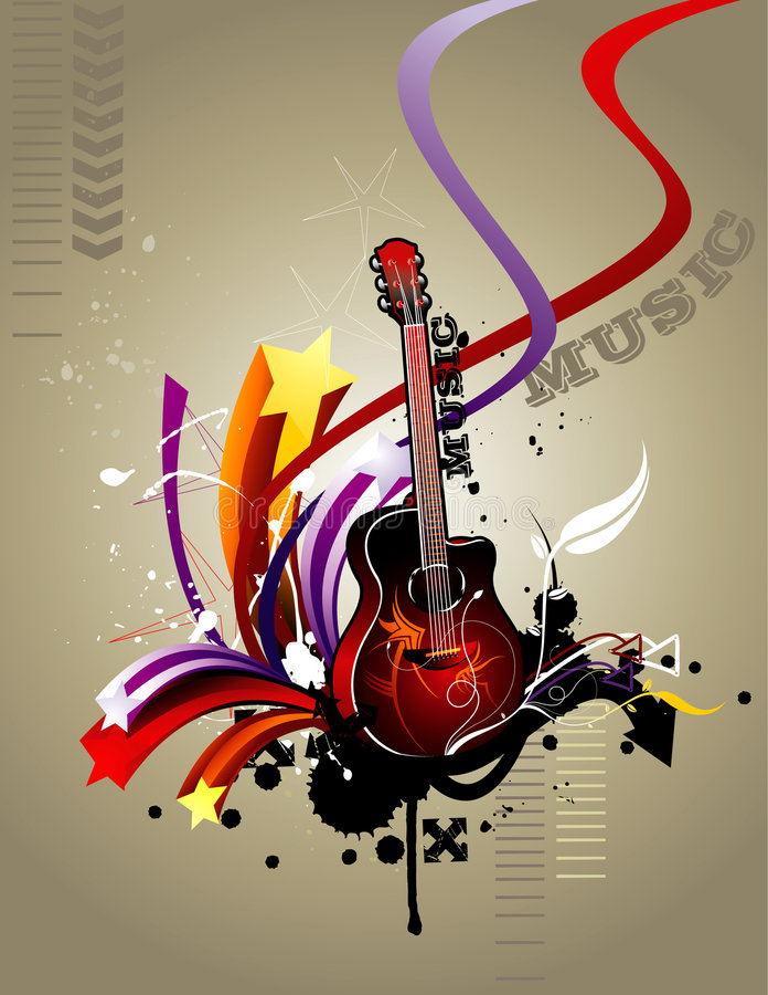 składu gitary wektor ilustracja wektor