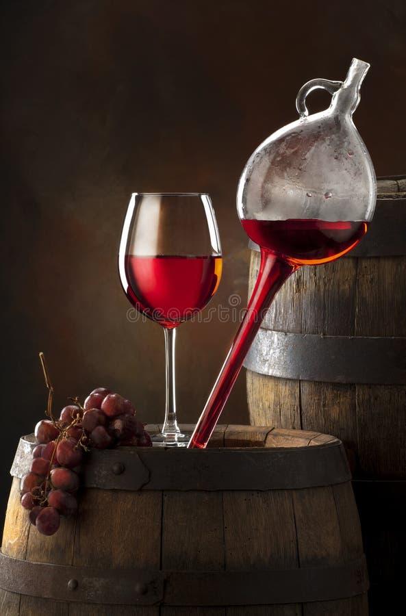 składu wino zdjęcie stock