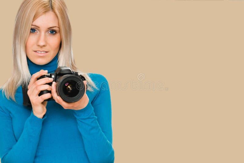 Sk?nhetfotograf royaltyfri foto
