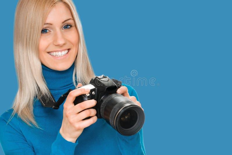 Sk?nhetfotograf royaltyfria bilder