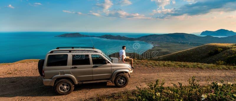 Sk?nhetnaturlandskap Krim royaltyfri bild