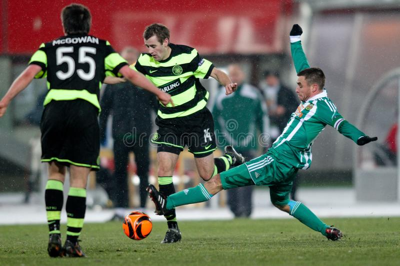 Download SK Rapid Vs. Celtic Glasgow F.C. Editorial Stock Image - Image: 12422389