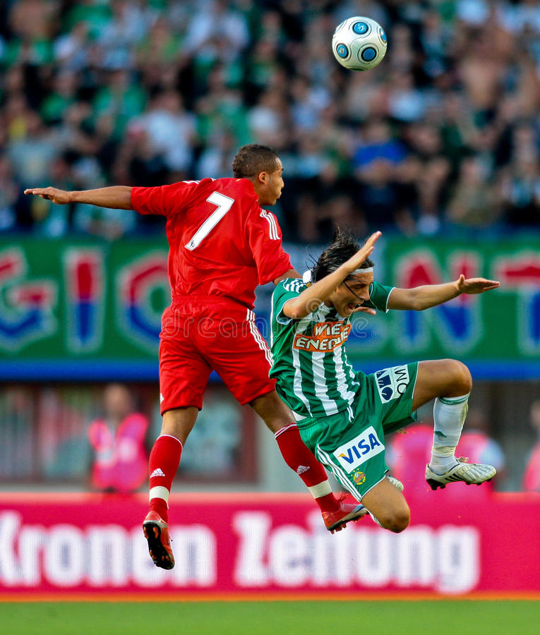 Download SK Rapid vs. Liverpool FC editorial stock image. Image of competition - 10460269