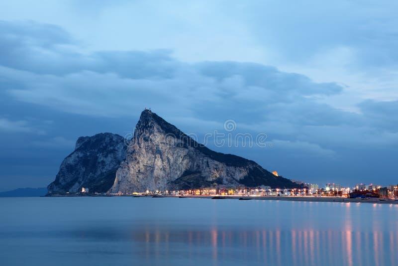 Skała Gibraltar zdjęcia royalty free