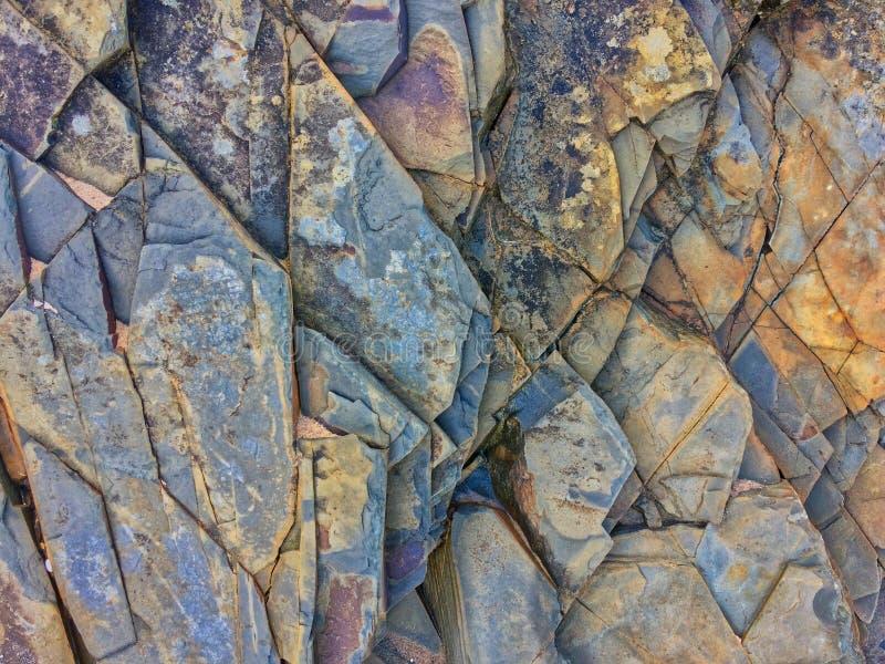 Skała, kamienna tekstura, kamień warstwy obraz stock