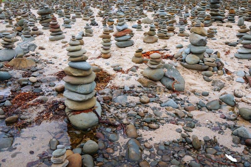 Skała stosy, Wielka ocean droga, Wiktoria, Australia fotografia royalty free