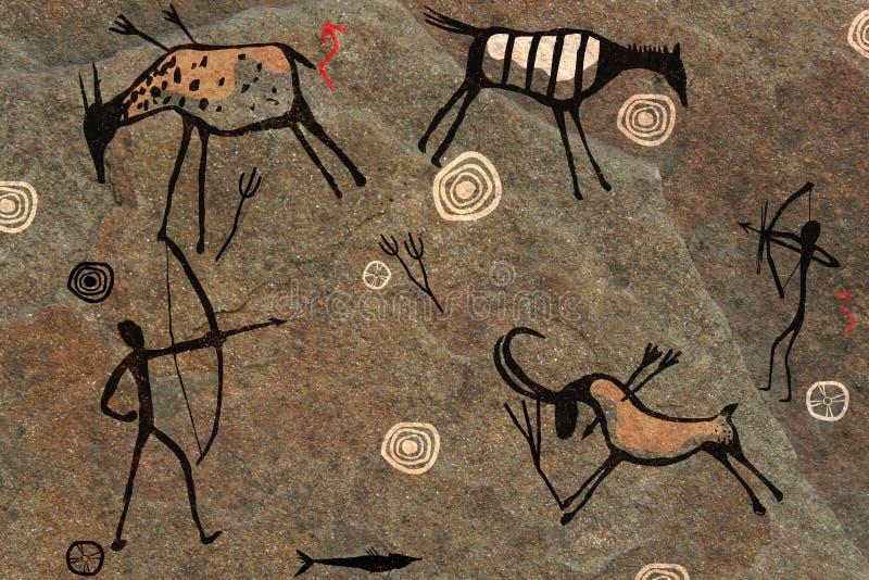 skała TARGET1575_1_ pełny ekran ilustracja wektor