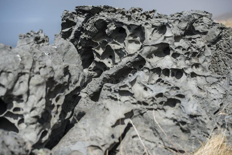 skała wulkaniczna obrazy stock