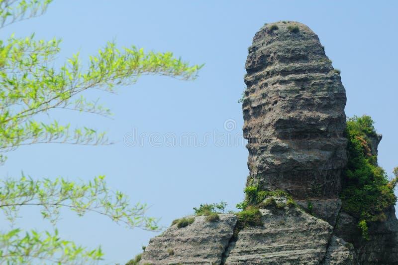 skała wulkaniczna osadowy zdjęcie royalty free