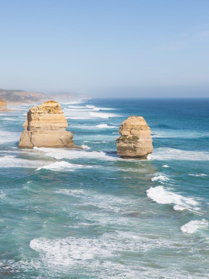 Skały Dwanaście apostołów - Australia punkt zwrotny zdjęcia royalty free