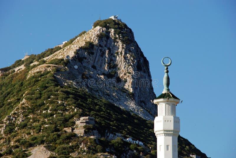 skały gibraltaru zdjęcie stock