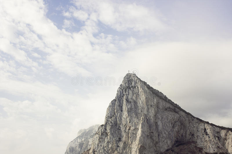 skały gibraltaru obraz royalty free