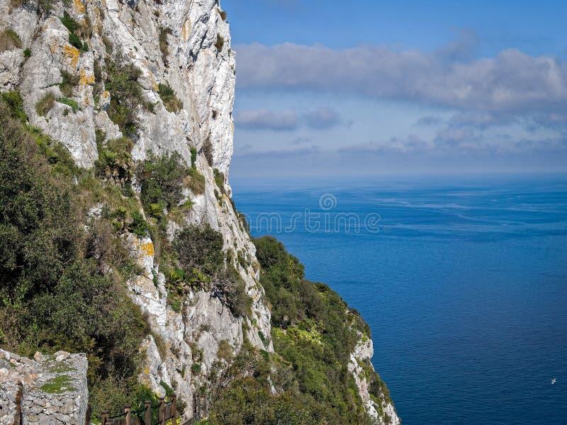 skały gibraltaru zdjęcie royalty free