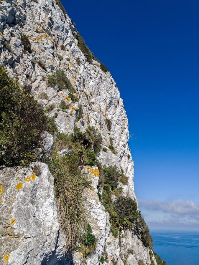 skały gibraltaru obraz stock