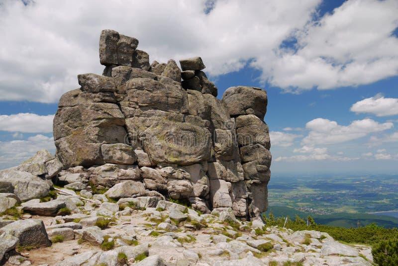 Moai skały zdjęcie royalty free