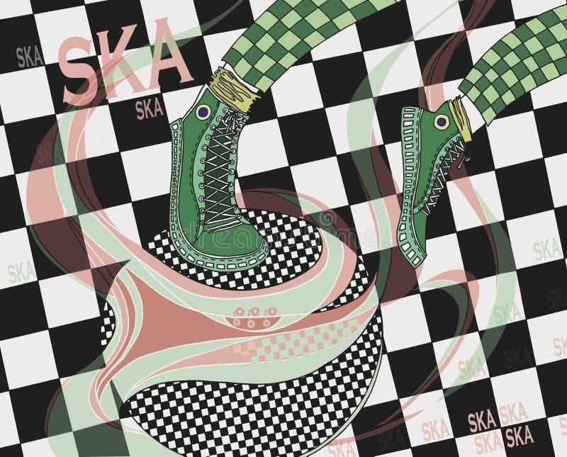 Ska vector illustratie