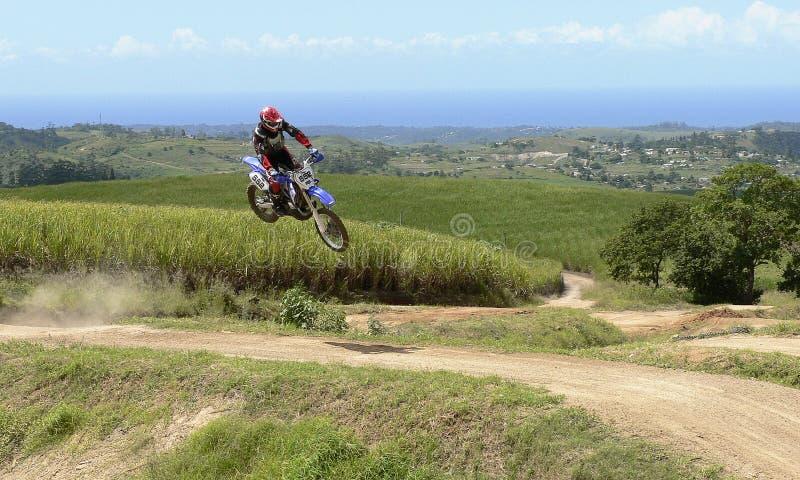 skacz roweru obraz stock