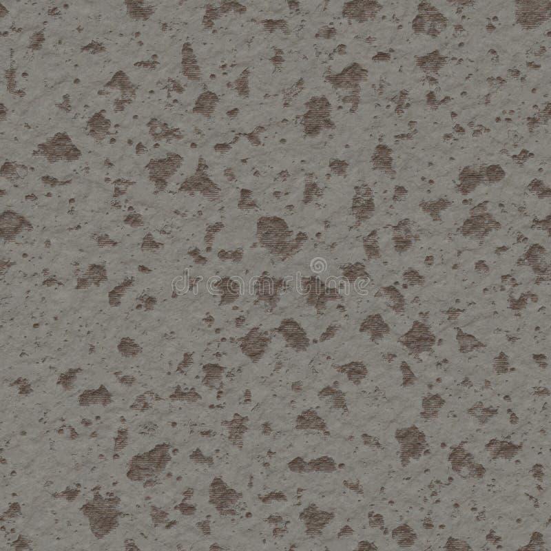 Skadad betongvägg som ojämn texturdesig för hårt torr yttersida arkivbild