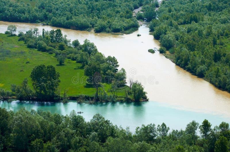 Skadar, Албания стоковое изображение