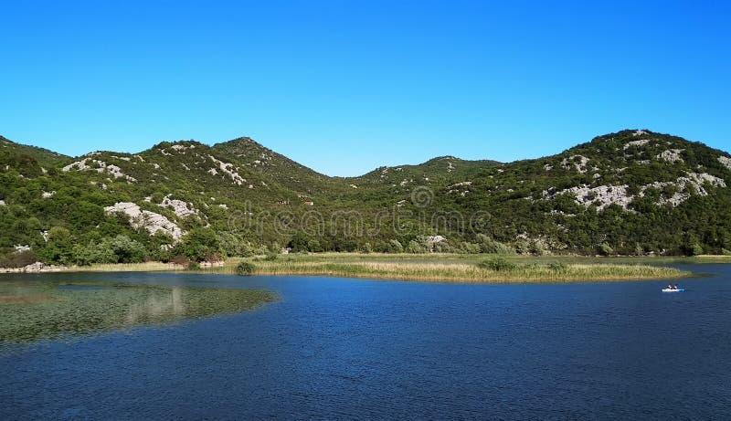 Skadar lake in Montenegro, Europe royalty free stock image