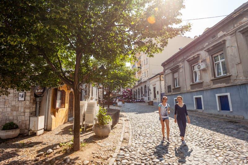 Skadarlija, Belgrado imagem de stock royalty free