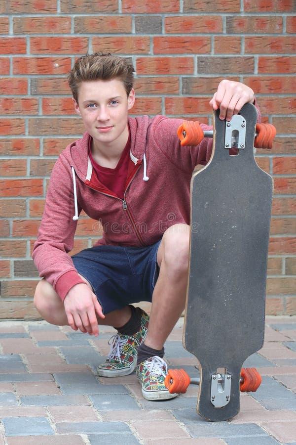Skadeboarder foto de stock