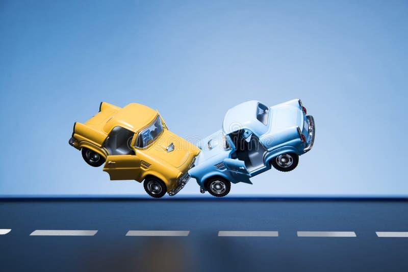 skadlig trafik för olycksbil krasch royaltyfria foton