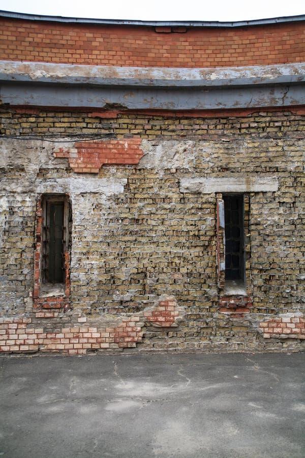 skadlig vägg arkivfoton