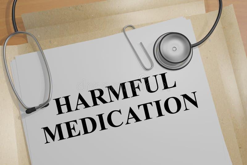 Download Skadligt Läkarbehandlingbegrepp Stock Illustrationer - Illustration av illustration, läkarbehandling: 78730603
