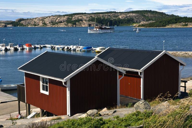 skagerrak瑞典 免版税库存图片